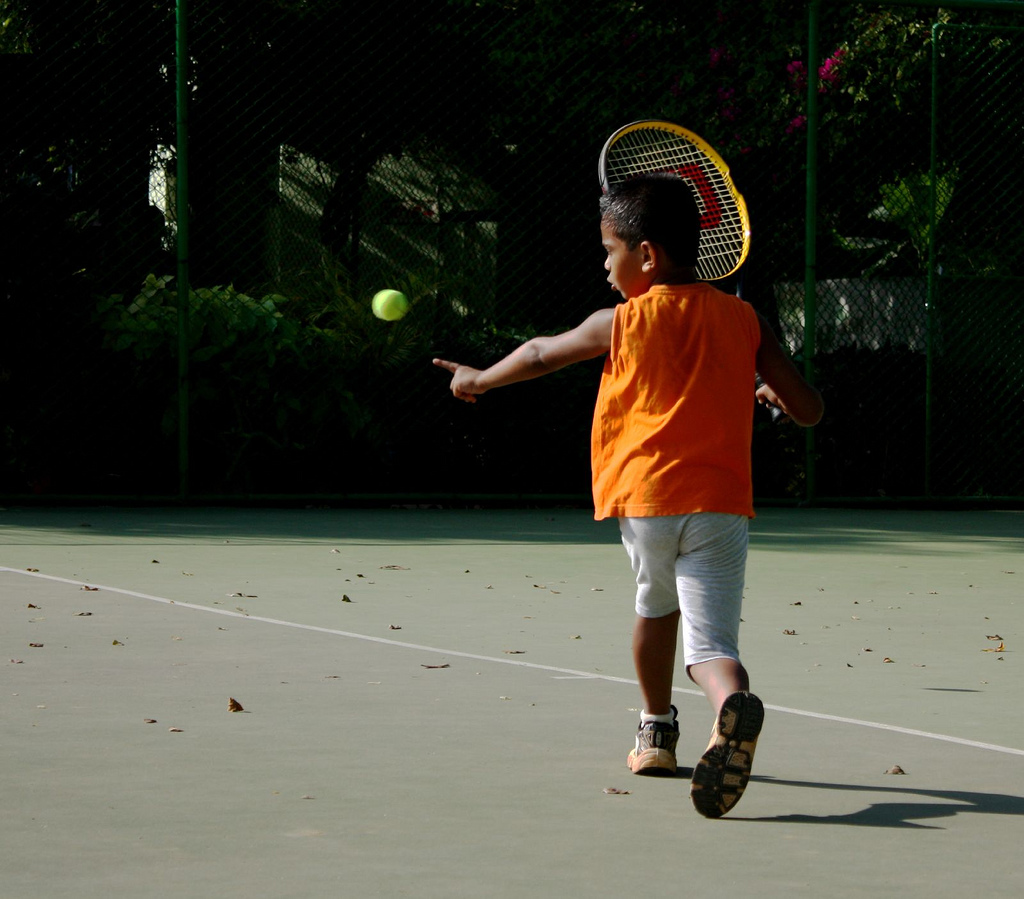 A fantastic day out at the Roland Garros, French Open Kids' Day