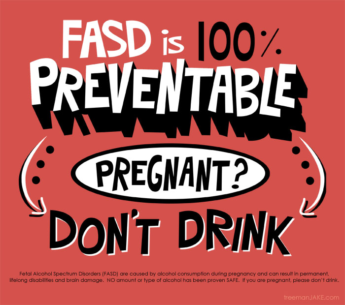 Booze, bumps and babies – it's FASD Awareness Month