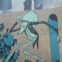 Street artist Retro