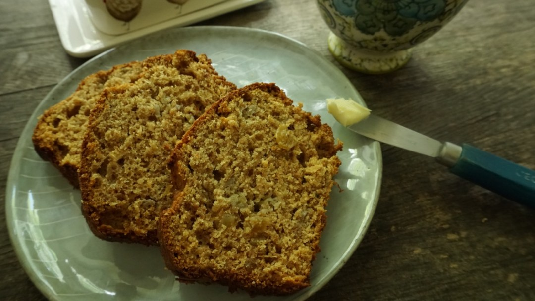This banana bread recipe is the perfect tea time treat