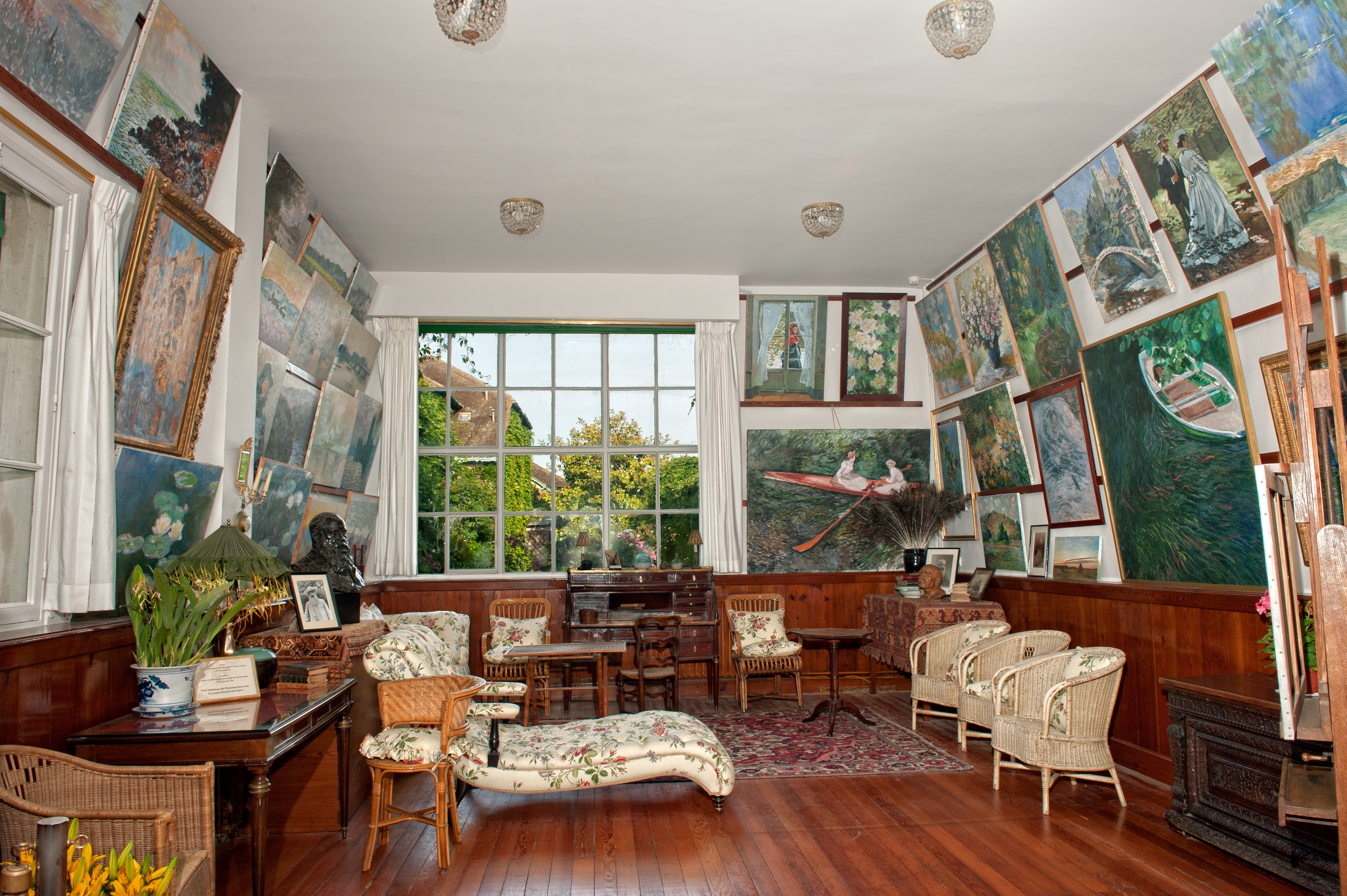 Image result for giverny interior