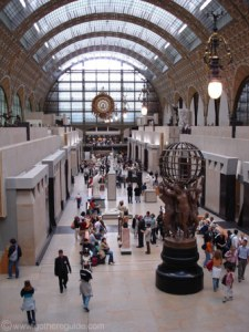 """Cavernous Interior and film set for """"A Very Long Engagement"""" and """"Hugo"""": Musee d'Orsay"""