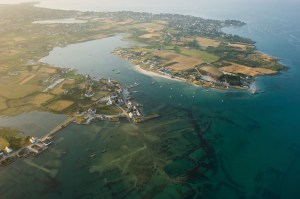 Also Beautiful from Above: Carnac from the air (© Brittany Tourist Office)
