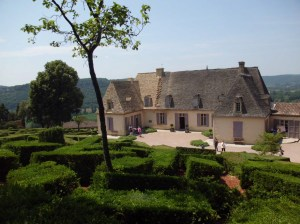 Manoir, Sweet Manoir.... The manoir at the Jardins de Marqueyssac