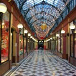 Passage des Princes at Christmas time