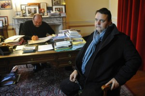 """""""There should not be any licence to kill."""" Well-'liked' jeweller Eric Bey in the office of his legal representative"""