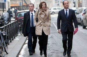 Getting colder? Valérie Trierweiler and François Hollande