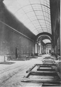 Empty Spaces: the Grande Galerie bereft of paintings during the Nazi Occupation