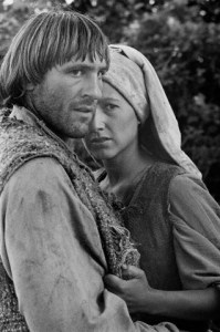 Depardieu and Baye in 'Le Retour de Martin Guerre'