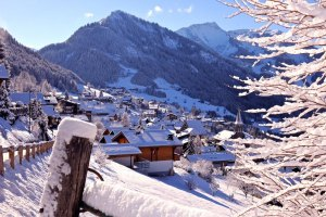 French Ski Station with traditional feel - Châtel