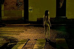 "Naked street wandering in Claire Denis' ""Les Salauds"": What's not to like?"