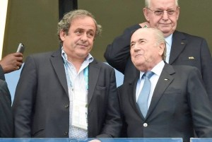 Another fine mess... Platini's credentials as footballing God in France would make it a major shock if the corruption allegations were proven to be true