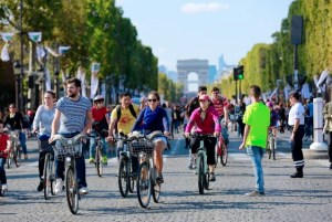 Who needs cars? No-car Day in Paris offers a glimpse of the future