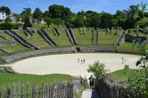 Wonderfully Ruinous - the Gallo-Roman Amphitheatre in Saintes