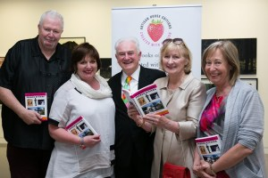 Pictured at the launch at the RHA, Dublin on the 18th of May are Vince Murphy and Mary Ruddy from Artisan House, Patrick Murphy, Antoinette Murphy and Betty Murphy, Artisan House.