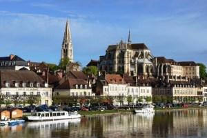 Auxerre - capital of Bourgogne (Burgundy)