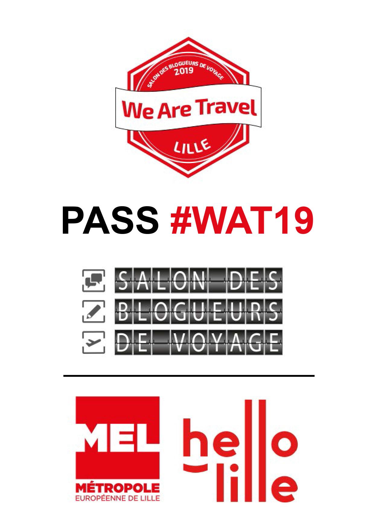 Notre Pass pour l'entrée du Wat 19