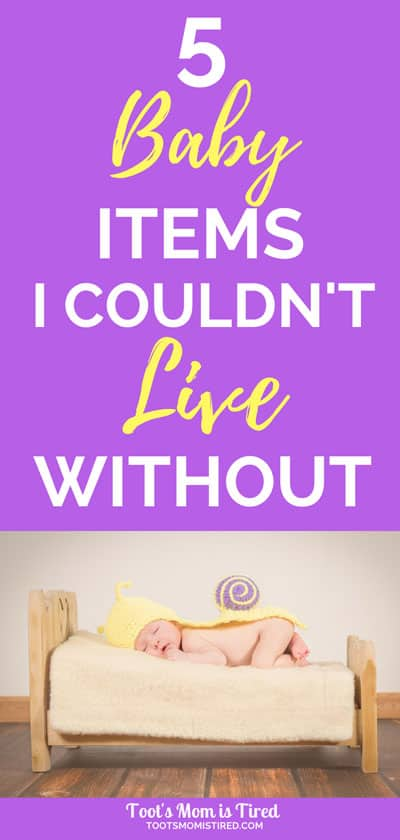 5 Baby Items I Couldn't Live Without | gift ideas for baby showers, things you need for baby's first year, things you need for a newborn, new mom recommendations, baby equipment, #baby #pregnant #newborn #babyshower #babyregistry