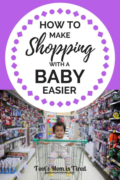 9 Mom Hacks to Make Shopping With a Baby Easier