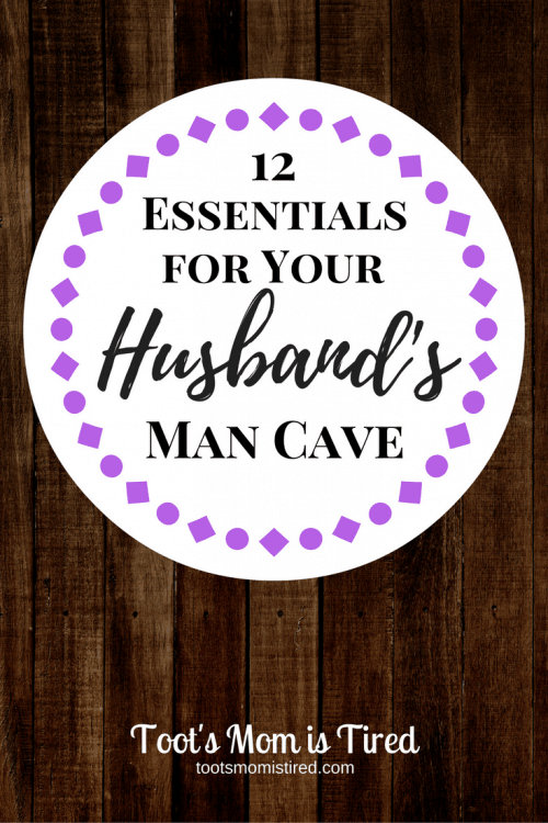 12 Essentials for Your Husband's Man Cave | Check out these great Christmas or birthday gift ideas for your husband or dad to go in his man cave!