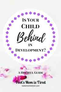 Is Your Child Behind in Development? | A helpful guide to the questions: Is my baby behind in development?, When should my baby learn skills?, Is my child developing on track?, and more
