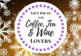 Gift Ideas for Coffee, Tea, and Wine Lovers