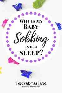 Why is My Baby Gasping or Sobbing in Her Sleep? | baby breathing weirdly, periodic breathing, baby breathing problems