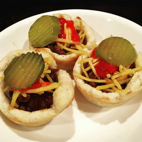 Cheeseburger cups, easy 30 minute meal
