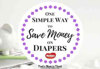 One Simple Way to Save Money on Diapers