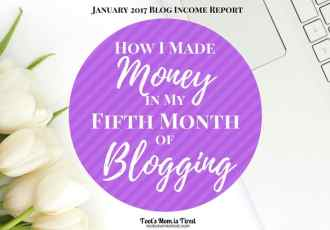 How I Made Money in My Fifth Month of Blogging