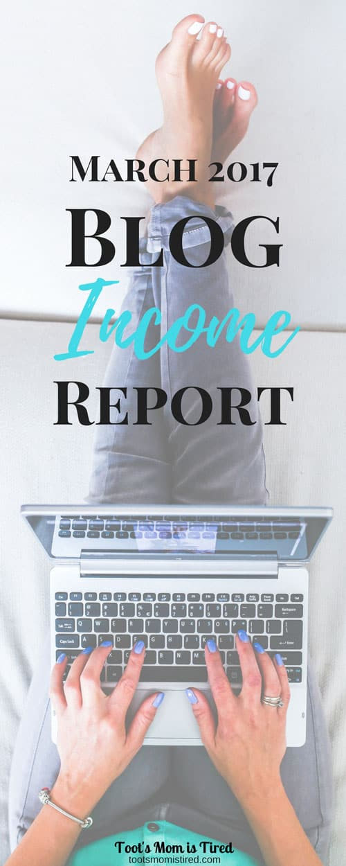 How I Made Money in My 7th Month of Blogging - March 2017 Blog Income Report | Make money blogging, how to blog for profit, blogging for money, seven months, blogging tips for beginners