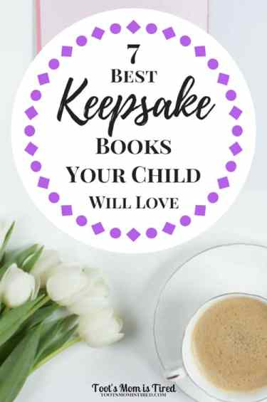 7 Best Keepsake Books Your Child Will Love | Write a book for your child about your life or your child's life with these easy scrapbooks for memories! | parenting tips, mom life, memory books, baby books, unique baby shower gift, motherhood
