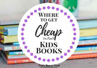 Where to Get Cheap or Free Kids Books