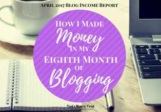 How I Made Money in My Eighth Month of Blogging