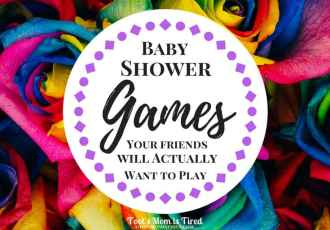 Baby Shower Games That Your Friends Will Actually Want To Play