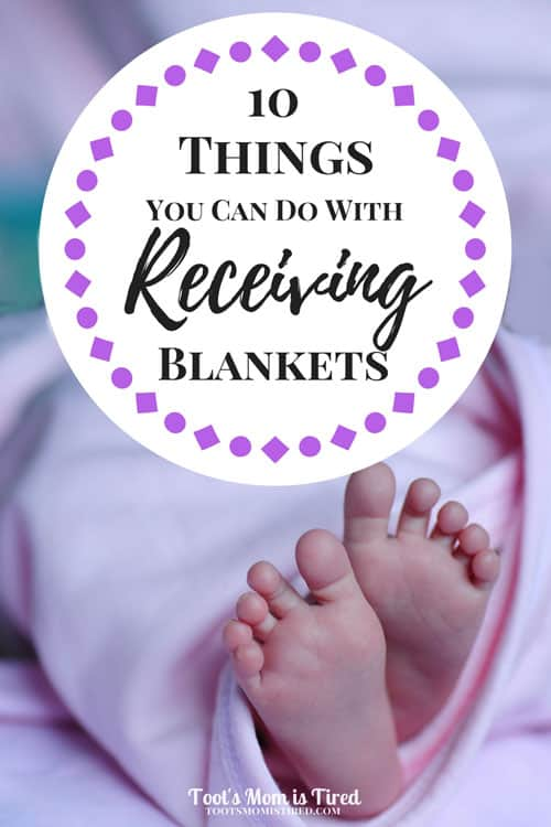 10 Things You Can Do with Receiving Blankets | baby blankets, toddlers, upcycle, recycle, tips, mom hacks, motherhood, parenting, mom life, babies, mom blogger, swaddle, What are receiving blankets for?