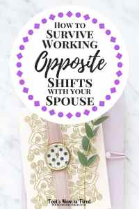 How to Survive Working Opposite Shifts with Your Spouse | Sponsored by Tai Pei | ad, #innerdragon, #IC, working opposite shifts as your husband, work schedules, never see your husband, never see your significant other, SO, get more time together, communication, parenting, mom life, dad life, motherhood
