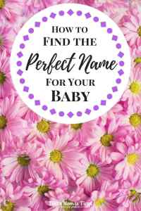 How to Find the Perfect Name for Your Baby | baby names, parenting, pregnancy, tips, name a baby, what not to name a baby, bad baby names, best baby names, popular baby names, how to choose a baby name, how to pick a baby name, compromising
