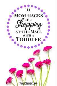 11 Mom Hacks for Shopping at the Mall with a Toddler | Sponsored by Similac | toddlers, parenting, mom life, momlife, parenting tips, Go and Grow by Similac pouches, motherhood, life hacks, ideas