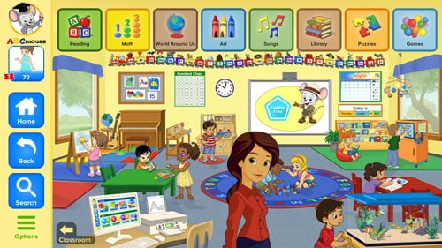 Can my two year old use abcmouse.com?