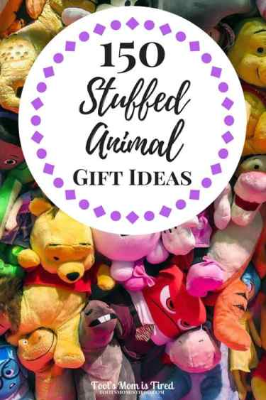 150 Stuffed Animal Gift Ideas for Babies and Toddlers | Stuffed animals, stuffies, stuffey, stuffeys, lovey, lovies, lovie, baby, toddler, Christmas, holiday gift guide, birthday gift ideas, disney, paw patrol, nickelodeon, moana, sing, jellycat, cute stuffed animals, baby shower registry ideas, baby shower gift ideas, baby security blankets