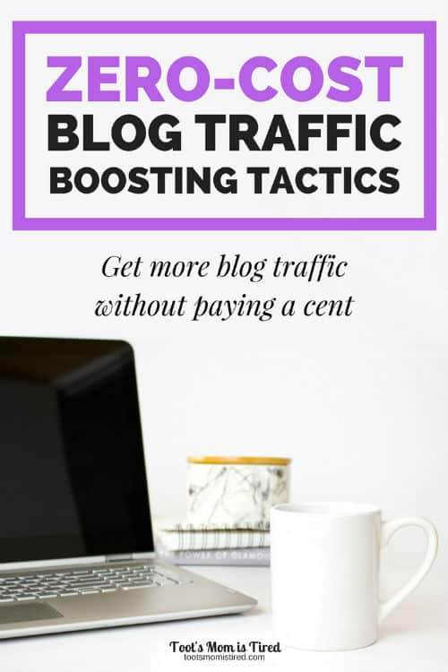 Zero Cost Blog Traffic Boosting Tactics | make money blogging, how to blog for profit, how to get more blog traffic for free, blogging resources, new blogger tricks, ebook for bloggers, higher traffic, boost blog traffic, get more pageviews
