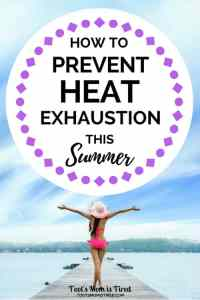 How to Stay Cool and Prevent Heat Exhaustion This Summer   heat stroke prevention, heat illness, heat sickness, heat intolerant, stay cool outside, hot temperatures, nano ice, motherhood, parenting, #summer #summer2018 #summergoals #heatexhaustion #heatstroke
