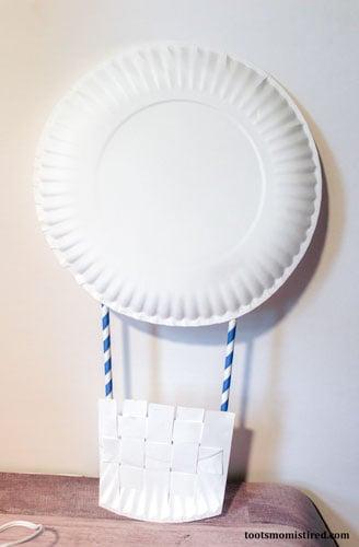 hot air balloon craft step 8