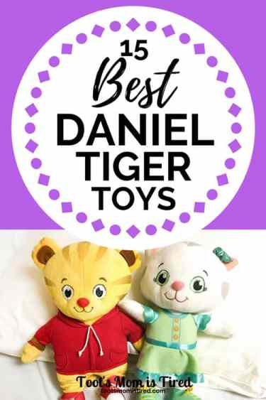 15 Best Daniel Tiger Toys for Toddlers and Preschoolers | Daniel Tiger's Neighborhood toys, fun and educational toys for toddlers, playsets for preschoolers, gift ideas for one year olds two year olds three year olds