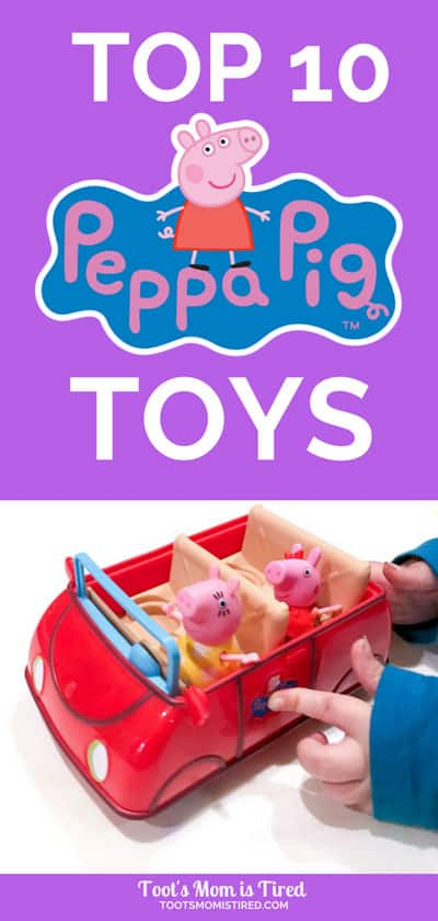 Top 10 Best Peppa Pig Toys for Toddlers and Preschoolers | christmas toy ideas 2018, gift ideas for toddlers, gift ideas for preschoolers, what to buy a two year old for christmas, what to buy a three year old, 2 year old, 3 year old, 4 year old, birthday gifts for toddlers, birthday gifts for preschoolers, #peppapig #toddlers #preschoolers #toys #giftideas