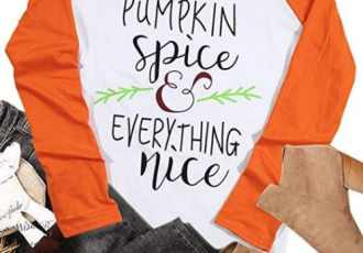 12 Cute Pumpkin Spice T-Shirts for Fall