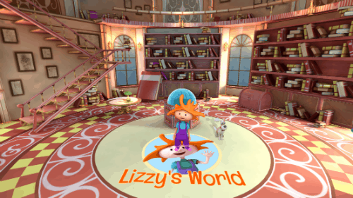Lizzy's World VR App for Preschoolers