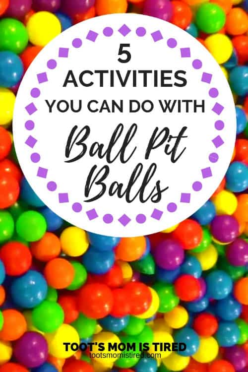 5 activities you can do with ball pit balls
