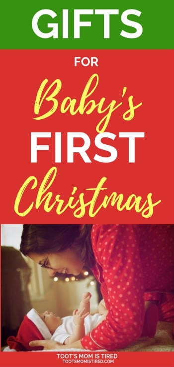 How to Celebrate Your Baby's First Christmas | Gifts to give a baby for Christmas, Holiday traditions to start with your baby, what you need for your baby's first christmas. #baby #christmas #firstchristmas